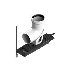 Отвод STOUT 87 градусов диаметр 80 м/п PP-FE с опорой (SCA-8080-121090) стоимость