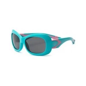 Cолнцезащитные очки Real Kids детские Breeze для девочек с поляризацией аквамарин/розовые (7BREAQPKP2) cолнцезащитные очки real kids детские авиатор розовые 2kypnk