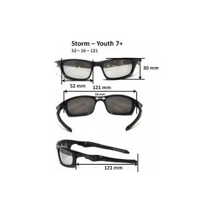 Cолнцезащитные очки Real Kids детские Torm черные (7TOBLK)