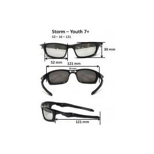 Cолнцезащитные очки Real Kids детские Torm серебро (7STOSLV)