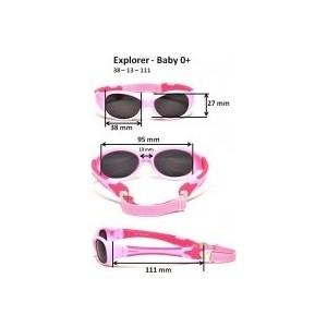 Cолнцезащитные очки Real Kids для малышей черный/красный (0EXPBKRD)