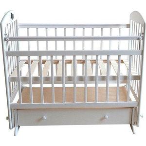 Кроватка Briciola 11 маятник поперечный ящик автоматическая белая BR1101 кроватка briciola 9 маятник продольный автостенка белая br0901