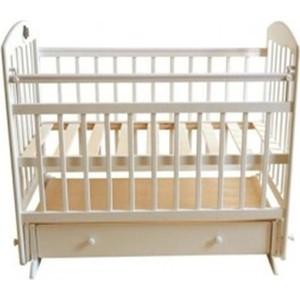 Кроватка Briciola 11 маятник поперечный ящик автоматическая слоновая кость BR1111 кроватка briciola 9 маятник продольный автостенка белая br0901