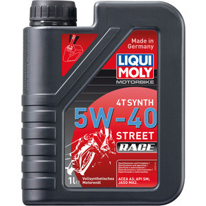 Моторное масло Liqui Moly Racing Synth 4T 5W-40 1 л 2592 все цены