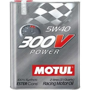 Моторное масло MOTUL 300V Power 5W-40 2 л