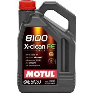 Моторное масло MOTUL 8100 X-Clean FE 5w-30 5 л бита stayer profi 26223 2 50 02 e 1 4 pz2 50мм 2шт