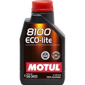 Моторное масло MOTUL 8100 Eco-lite 0W-20 1 л motul 8100 eco lite 5w30 1л