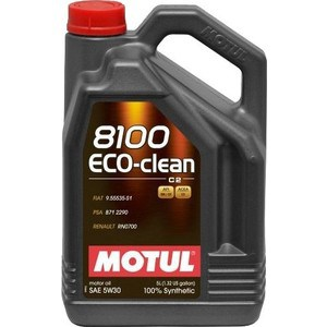 Моторное масло MOTUL 8100 Eco-clean 5W-30 5 л