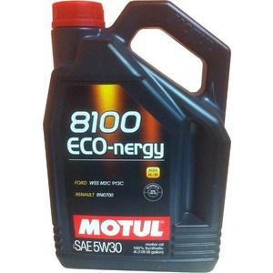цена на Моторное масло MOTUL 8100 Eco-nergy 5W-30 4 л