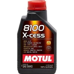 цена на Моторное масло MOTUL 8100 X-cess 5W-40 1 л
