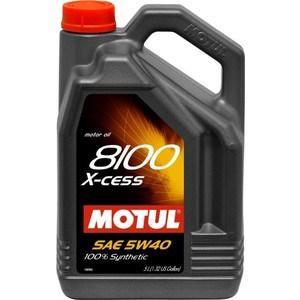 Моторное масло MOTUL 8100 X-cess 5W-40 5 л motul specific dexos2 5w 30 1 л
