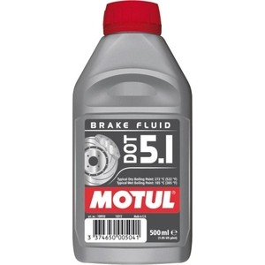Тормозная жидкость MOTUL DOT 5.1 Brake Fluid 0,5 л cleaner brake disc lavr quick cleaning of brake and clutch 400 ml