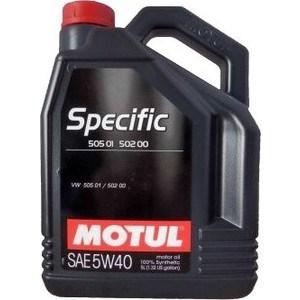 Моторное масло MOTUL Specific 502 00 / 505 00 / 505 01 5W-40 5 л motul specific dexos2 5w 30 5 л