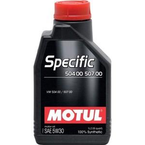 Моторное масло MOTUL Specific 504 00 / 507 00 5W-30 1 л motul specific dexos2 5w 30 5 л