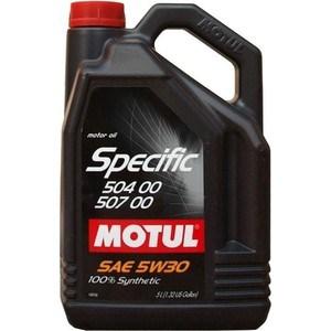 Моторное масло MOTUL Specific 504 00 / 507 5W-30 5 л