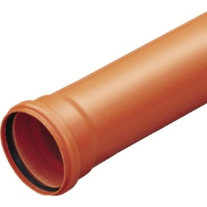 Труба Ostendorf с раструбом KGEM DN 160 2000 мм (222020)