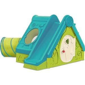Игровой домик Keter Фунтик с горкой бирюзово-зеленый (17192000)