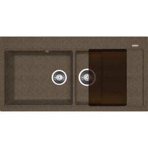 Фото - Кухонная мойка Florentina Россана коричневый FG (20.335.E1000.105) кухонная мойка florentina россана грей