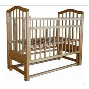Кроватка Лаура 3 маятник поперечный без ящиком натуральная береза 18055