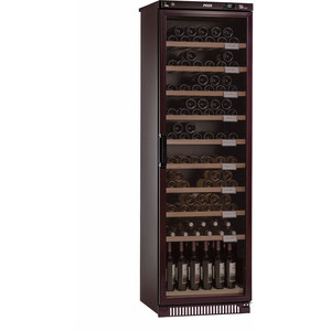 Винный шкаф Pozis ШВ-120 вишневый вишневый