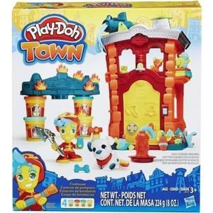 Игровой набор Hasbro Город Пожарная станция (B3415) hasbro игровой набор trolls город троллей диджей баг