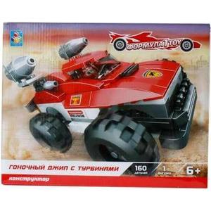 Конструктор 1Toy формула гоночный джип с турбинами 160дет Т57027