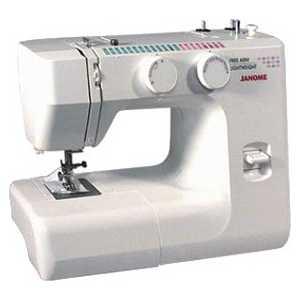 Швейная машина Janome 1143 лапка для швейных машин для узких складок 5 желобов janome оригинал