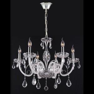 Фото - Подвесная люстра Crystal Lux Glamour SP-PL6 потолочная люстра crystal lux sevilia pl6 silver