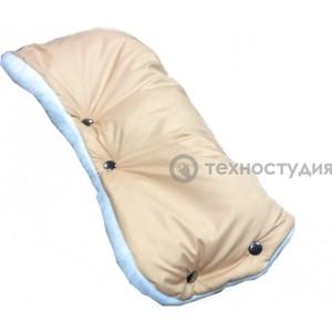 Муфта для коляски Baby Care Standard мех+плащевка бежевая (153)