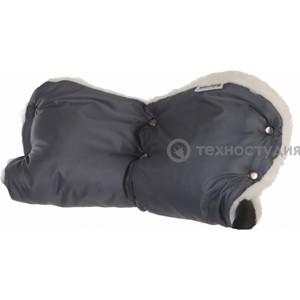 Муфта для коляски Baby Care Standard мех+плащевка серая (153п grey)