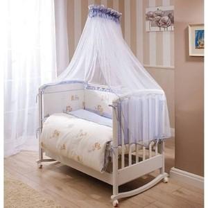 Комплект в кроватку Perina Тиффани 7 предметов неженка голубая (КПТ7-0339Т7-01.4)