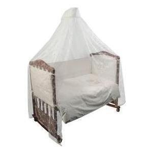 Купить со скидкой Комплект в кроватку Сонный Гномик Эльфы 3 предмета Молочный (КСЭ3-0563368/0)