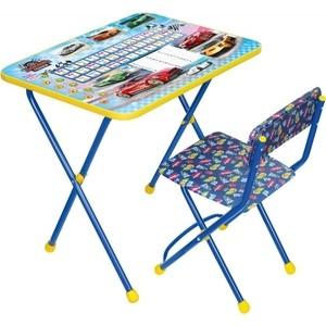 Набор мебели Nika Познайка стол стул большие гонки (КНП2-0282КП2/15) ника набор детской мебели познайка кп математика