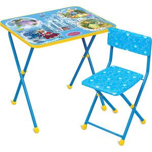 Набор мебели Nika Познайка стол стул Волшебный мир (КНП2-0282КП2/16) ника набор детской мебели познайка кп математика