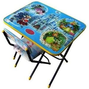 Набор мебели Nika Умничка стол стул Волшебный мир (КНУ1-0283КУ1/16) набор мебели nika умничка стол стул азбука 3 маша и медведь кну1 0283ку1 3