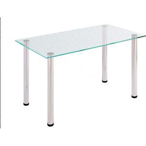 Стол обеденный Мебель из Стекла АРТ-6.0 ДГ2 прозрачный с цветами стол обеденный аврора мебель леонардо