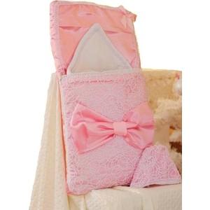 цена на Комплект АРГО на выписку конверт одеяло девочка розовый (82)