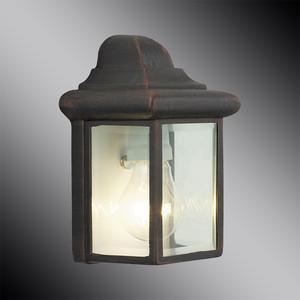 Уличный настенный светильник Brilliant 44280/55 brilliant светильник настенный britni