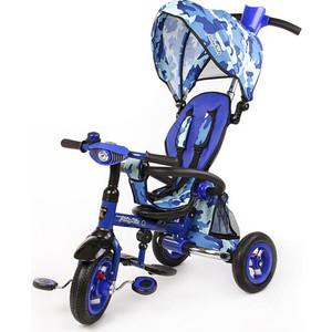 Велосипед трехколесный Moby Kids Junior 2 синий (T300 2Army) велосипед трехколёсный moby kids junior 2 10 8 красный t300 2