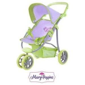 Коляска Mary Poppins прогулочная трехколесная Бабочка (67132)