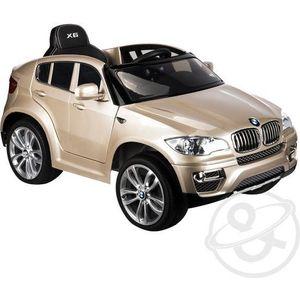 Электромобиль Weikesi BMW X6 3-8 лет (JJ258 champagne)