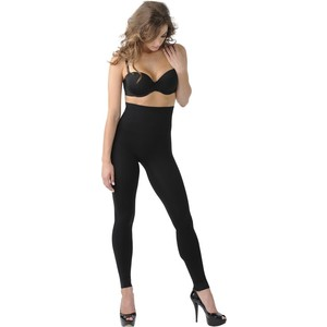 Леггинсы корректирующие Belly Bandit Mother Tucker Black M (46-48) майка утягивающая belly bandit mother tucker scoop neck black s 42 44 898997002950