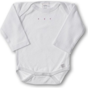 Фото - Боди SwaddleDesigns с длинным рукавом 3-6 месяцев (SD-203PP-3M) блузка боди с воланами 0 месяцев 3 года