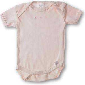 Фото - Боди SwaddleDesigns с коротким рукавом 3-6 месяцев (SD-212PP-3M) блузка боди с воланами 0 месяцев 3 года