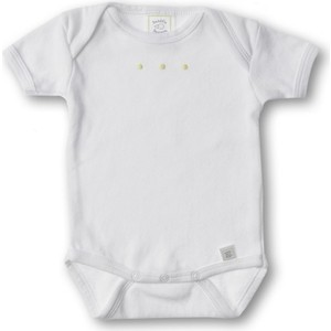 Фото - Боди SwaddleDesigns с коротким рукавом 0-3 месяцев (SD-200KW-NB) блузка боди с воланами 0 месяцев 3 года