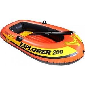 Надувная лодка Intex эксплорер 200 (с58331 /58331NP)