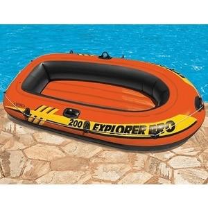 Надувная лодка Intex эксплорер про 200 (с58356) надувная мебель