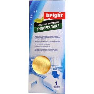Bright Салфетка из микрофибры универсальная 1 шт. (30х30)
