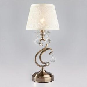 Настольная лампа Eurosvet 1448/1T античная бронза Strotskis настольная лампа eurosvet 12505 1t античная бронза strotskis