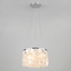 Подвесной светильник Eurosvet 60005/3 хром/перламутр подвесной светильник eurosvet 1279 balance